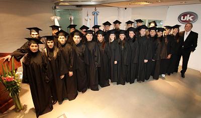 Graduados en el Instituto Pinto